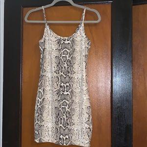 NWT Snakeskin dress!